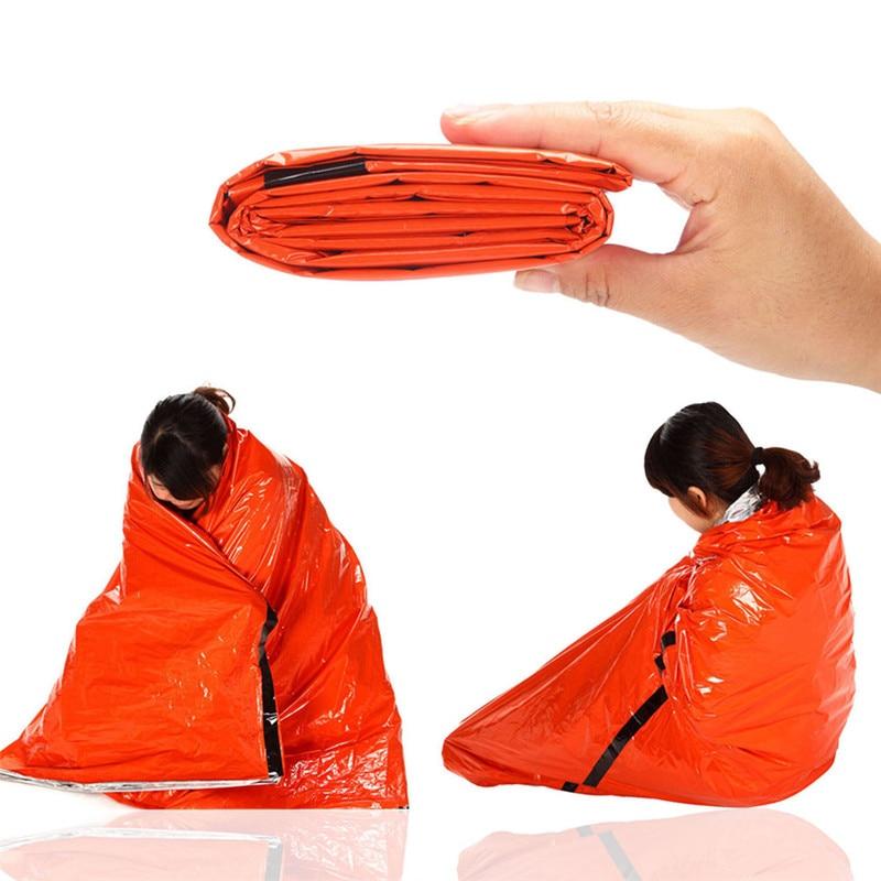 Blanket Outdoor Waterproof Blanket Piece Rainsuit Emergency Blanket Cobijas Blankets Survival Manta Prueba Frio Camping Blanket