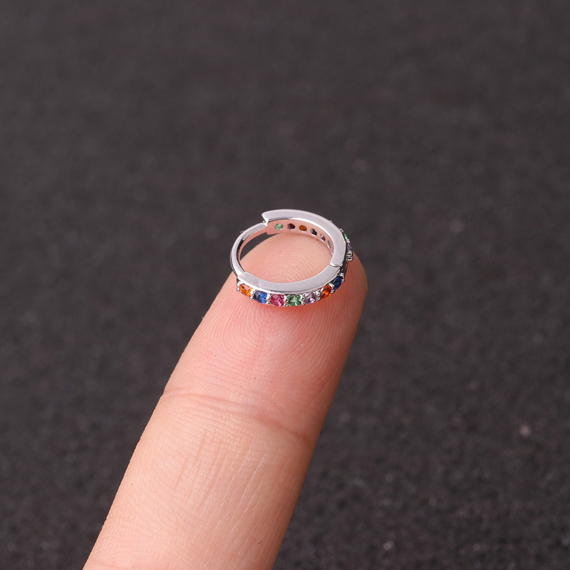 silver colorful 8mm