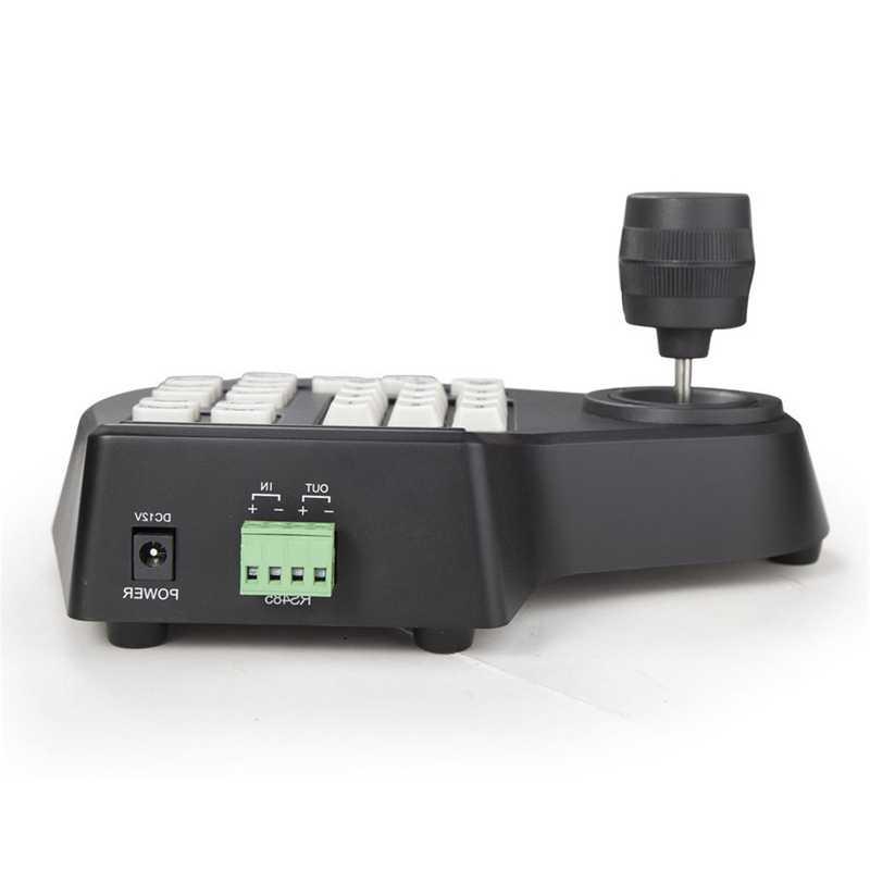 صغيرة ثلاثية الأبعاد محوري CCTV لوحة المفاتيح تحكم LCD 1.5 كجم عصا التحكم RS485 PTZ سرعة قبة كاميرا قوس ل Pelco سامسونج AD باناسونيك P