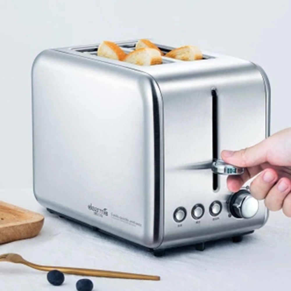 Xiaomi Deerma לחם אפיית מכונה חשמלי טוסטר ביתי אוטומטי ארוחת בוקר טוסט חול יצרנית לחמם מטבח גריל תנור