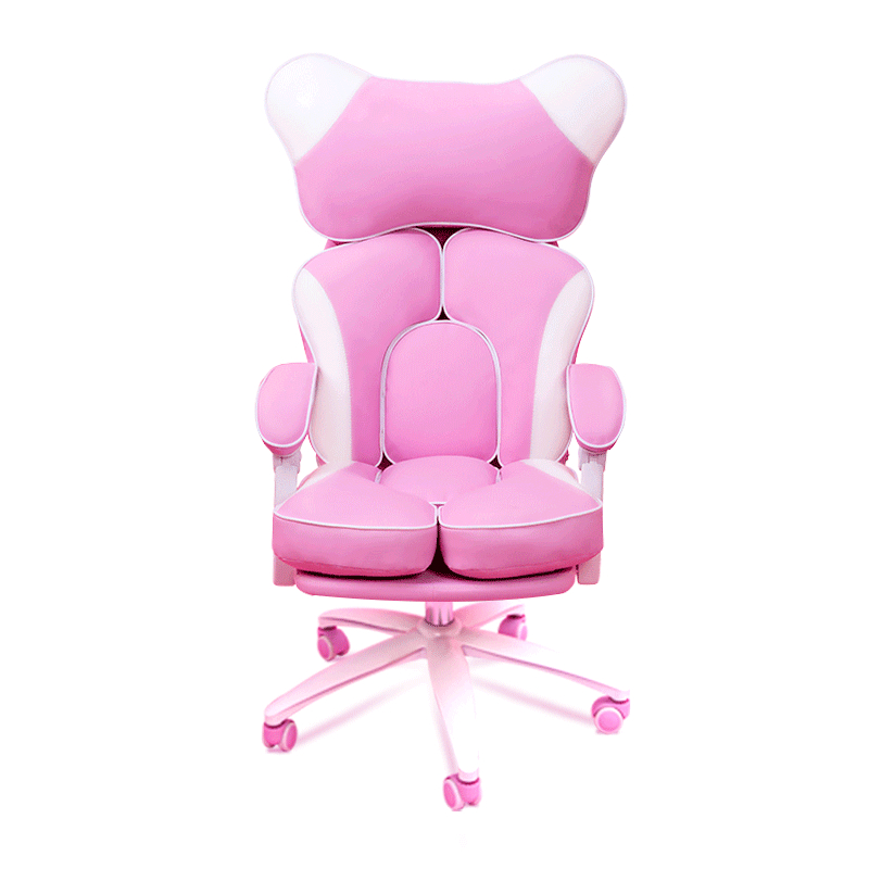 Girls dormitory fashion comfortable anchor chair reclining computer  home gaming  cute lift