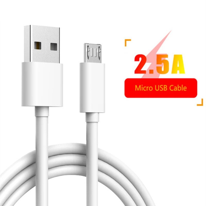 Micro Usb Cable 2.5A Micro Usb Cable Cord For Samsung Galaxy A3 A5 A6 2016 J3 J5 J7 2017 A7 A6 2018 S6 S7 Edge USB Cord