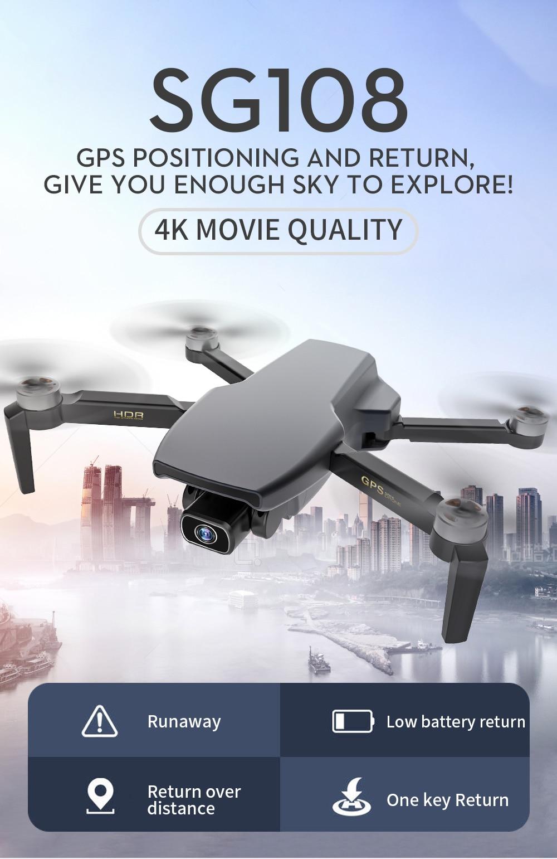 H71517d37d6ca49f1b50eb20c56cb8de9R - ZLL SG108 Pro GPS Drone With 5G Wifi FPV 4K HD Dual Camera Brushless RC Foldable Quadcopter 1000m Control Distance Dron VS KF102