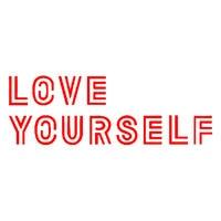 14X6cm Love Yourself Car Truck Vehicle Body Window Reflective Decals Sticker Decoration 5