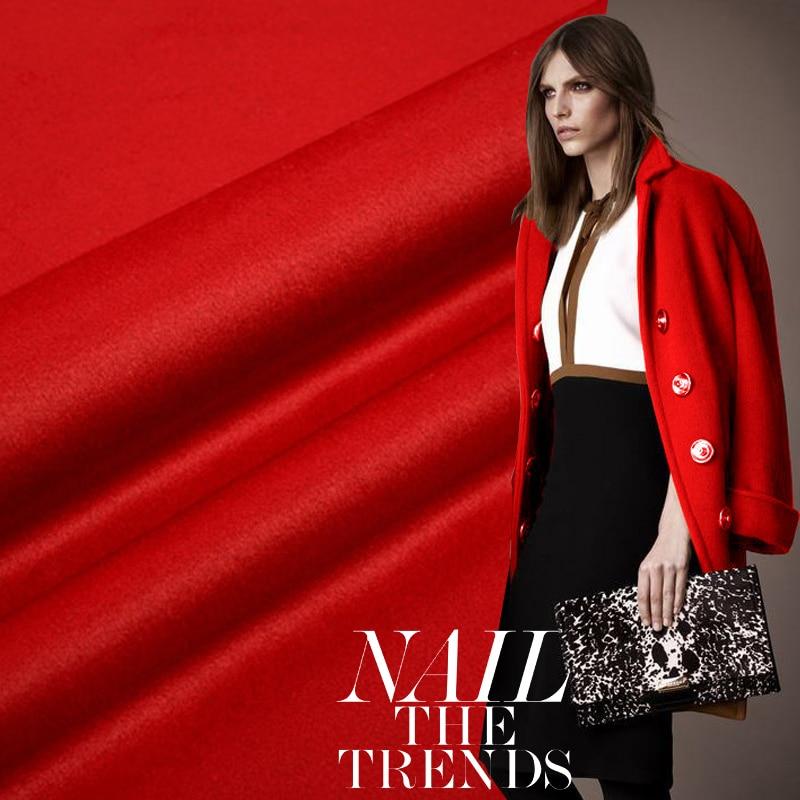 Tissu en laine de cachemire Design tissu Double face en laine de cachemire pour bricolage pardessus écharpe vêtements d'hiver