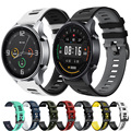 Ремешок силиконовый для Xiaomi MI Watch, цветной быстросъемный спортивный браслет для часов Amazfit Stratos 3 2, 22 мм