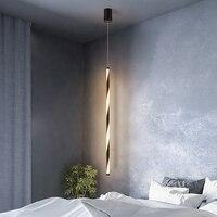 Quarto de cabeceira pendurado luzes pingente moderno e minimalista personalidade criativa luminária para bar cafe nordic restaurante lâmpada|Luzes de pendentes| |  -