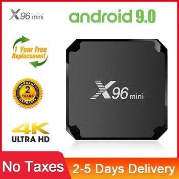 Фото - X96 Mini TV Box Android 2020 Amlogic S905W Quad-Core Full HD 1080P 100M 4K Media Player 2.4G WIFI Smart TV BOX Android X96 Mini mxq pro 5g 4k android smart tv box quad core amlogic cpu s905w 2gb 16gb 3d android10 0 tv box 2 4 5g wifi 1080p hd media player