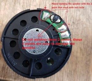 Image 5 - Suono impressionante FAI DA TE 53 millimetri Altoparlante 60 Ohm copertura in acciaio smontato unità dalle cuffie