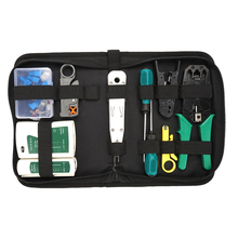Repair-Tool-Kit Computer Network Pliers Bag Wire-Cutter-Screwdriver Lan-Cable-Tester