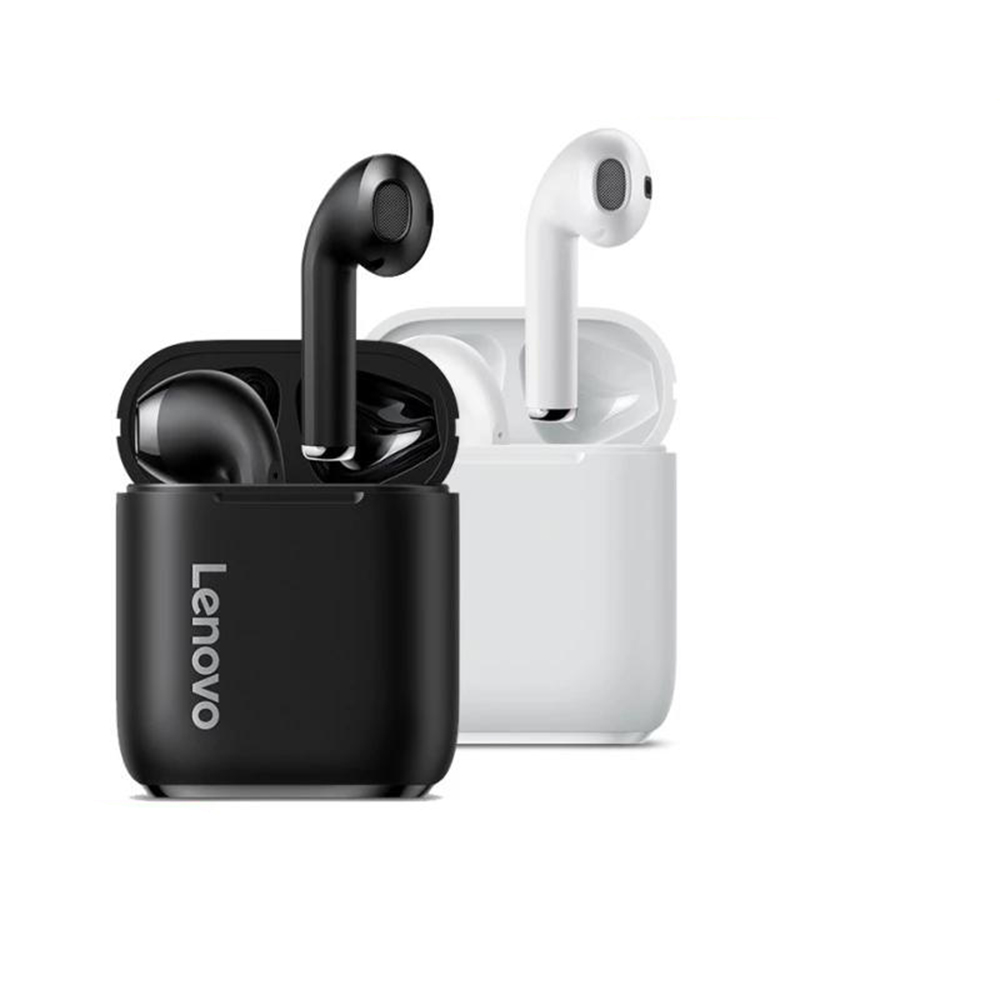 Lenovo LP2 TWS Wireless Earphone Bluetooth 5.0 Dual Stereo Bass  350MAH HiFi Music With Mic For Android IOS Smartphone