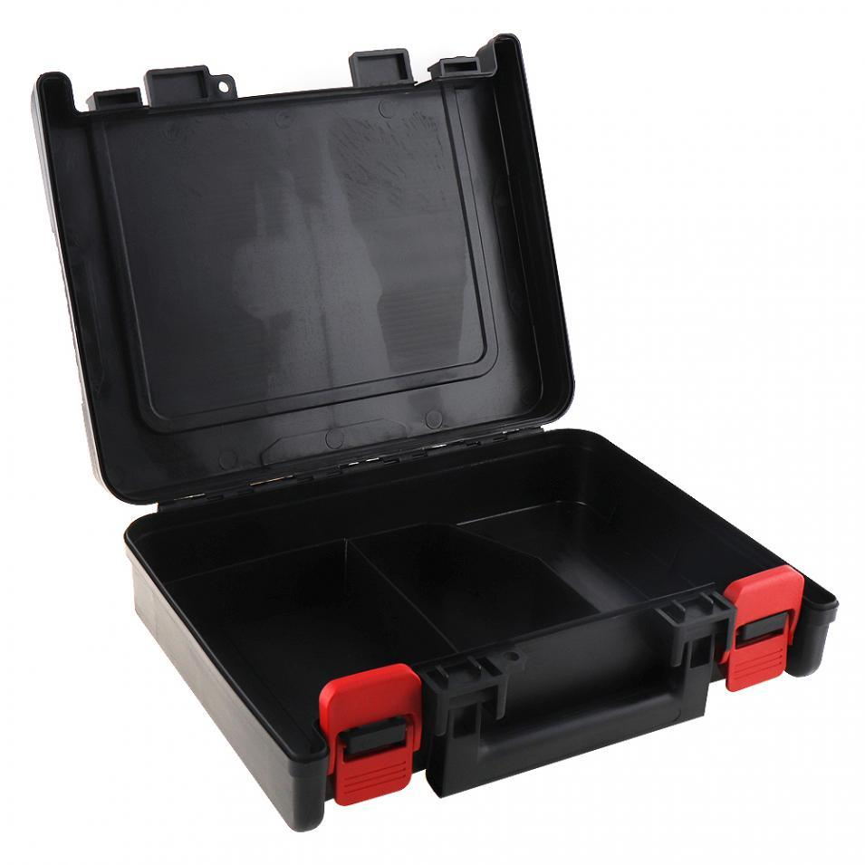12V 16.8V 21V Universal Tool Box Storage Case With 320mm Length For Lithium Drill Electric Screwdriver
