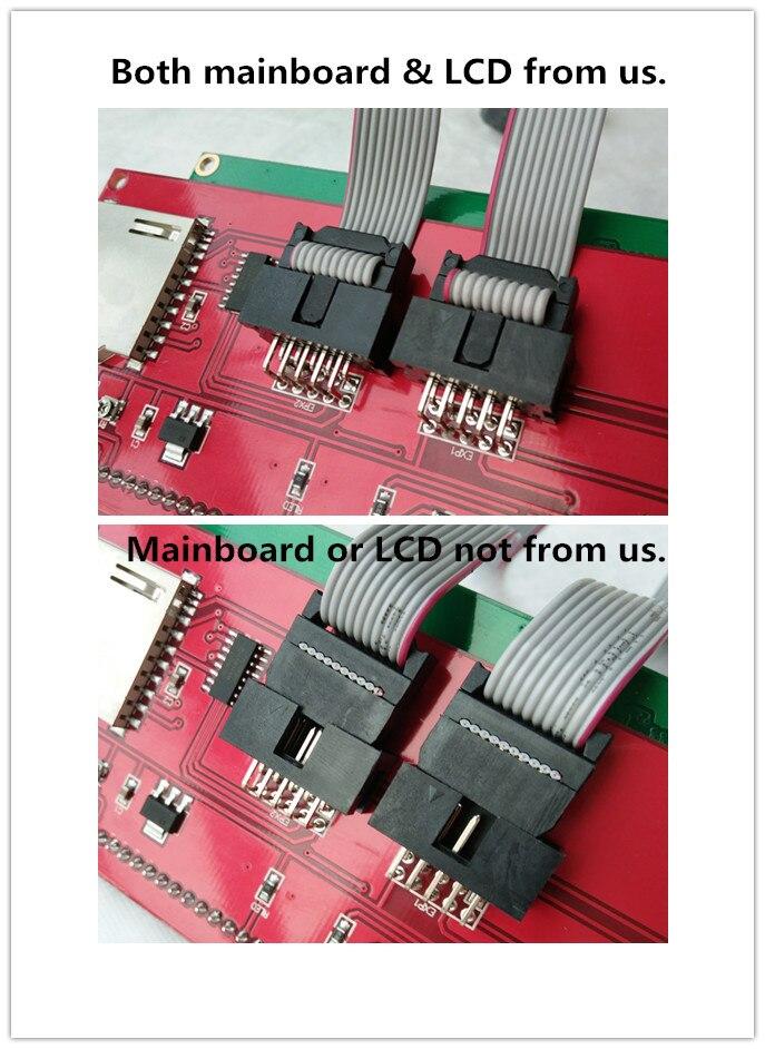 impressora 3d lcd pecas lcd12864 controlador reprap 04