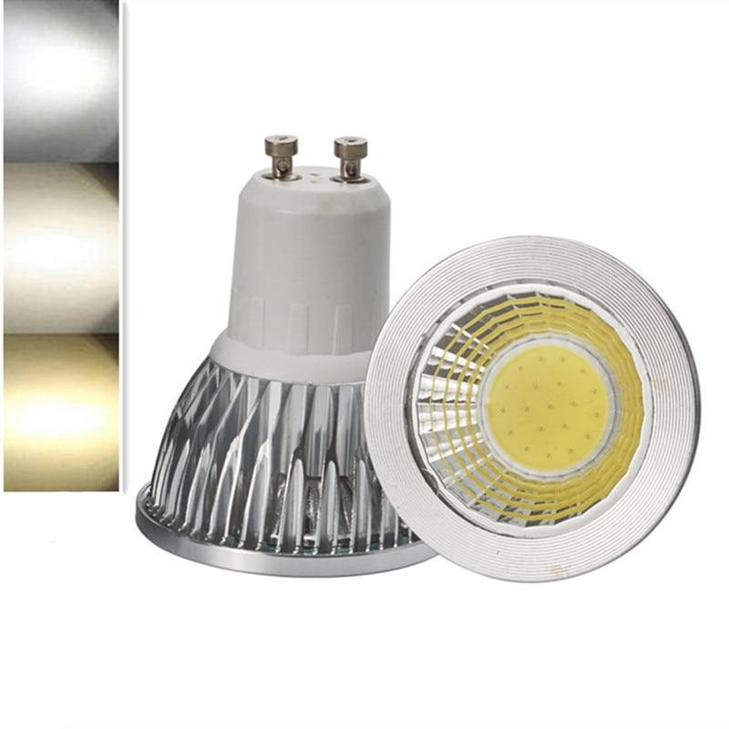 1 шт., суперъяркая Светодиодная лампа GU10, 9 Вт, 12 Вт, 15 Вт, 110 В, 220 В, светодиодные точечные светильники, теплый/естественный/холодный белый свет,...