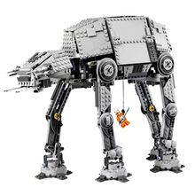цены 2019 New Star Toys Motorised Walking AT-AT Compatible Legoingly 10178 Building Blocks Figure Bricks for Children Christmas Gift