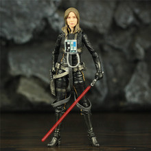 """SW 6"""" Jaina Sol Legends Action Figure The Black Series Toy Doll Model Collectable"""