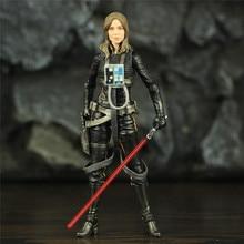 """SW 6 """"Jaina Sol Legends aksiyon figürü siyah serisi oyuncak bebek modeli koleksiyon"""