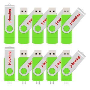 Image 5 - USB флеш накопитель J boxing OTG, 16 ГБ, 32 ГБ, флешка 64 ГБ, 8 ГБ, поворотный Micro USB 2,0, карта памяти для телефонов Android, ПК, Mac, 10 шт./упакетиков.