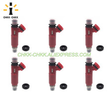 CHKK-CHKK Car Accessory 195500-3970 MD357267 fuel injector for Mitsubishi Montero 3.5L V6 2001~2002 chkk chkk car accessory 195500 4430 n3h1 13 250a fuel injector for mazda rx 8 1 3l l4 2004 2008