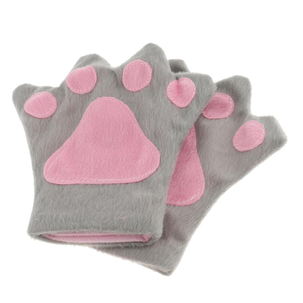 Raccoon Ear /& Tail Kit Gry /& Blk Faux Fur Eared Headband /& Tail Animal Accessory