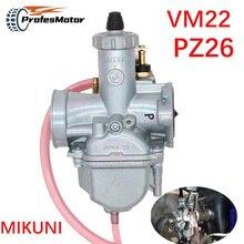 Vergaser Mikuni VM22 PZ26 26mm Leistung Carb Für 110cc 125cc 140cc Pit Dirt Bike XR50 CRF70 Vergaser Zubehör Teile