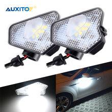 AUXITO-luces Led debajo del espejo lateral para coche, accesorios para Mercedes Benz Clase A W176 W246 W242 C E S CLA CLS GLA GLK, 2 uds.