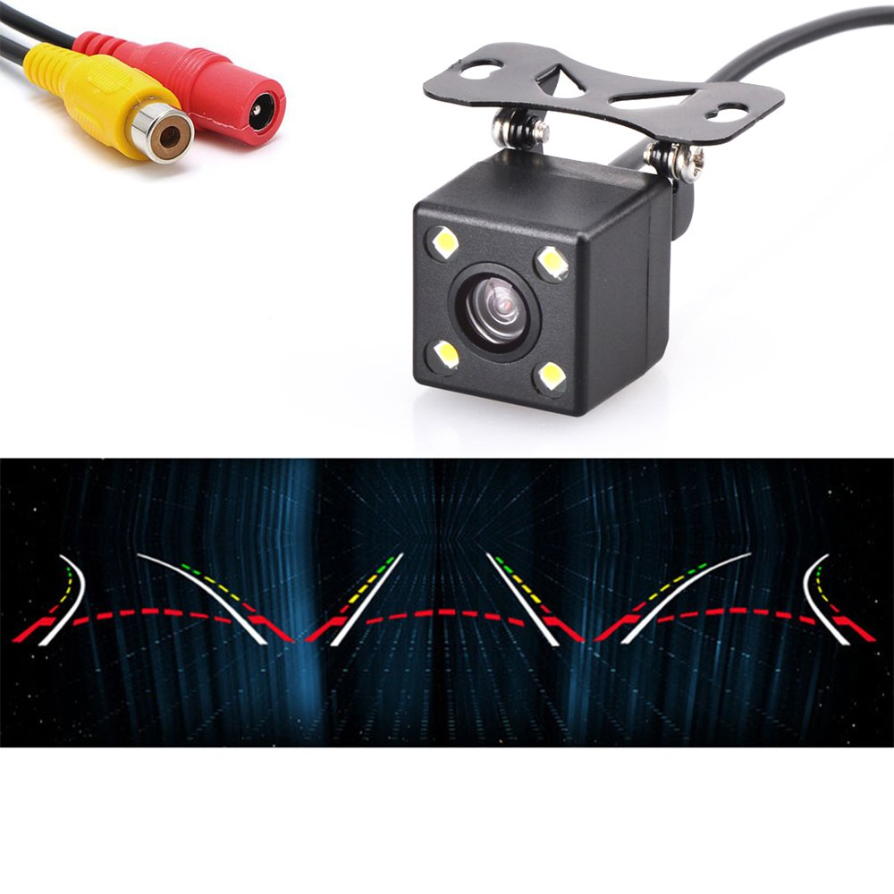 Новинка, Автомобильная камера заднего вида, универсальная, умная, динамическая, траектория, обратная камера, DC 12V 150, широкий угол обзора, HD, в...