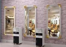 Парикмахерское зеркало таблицы в магазине волос салонное напольное