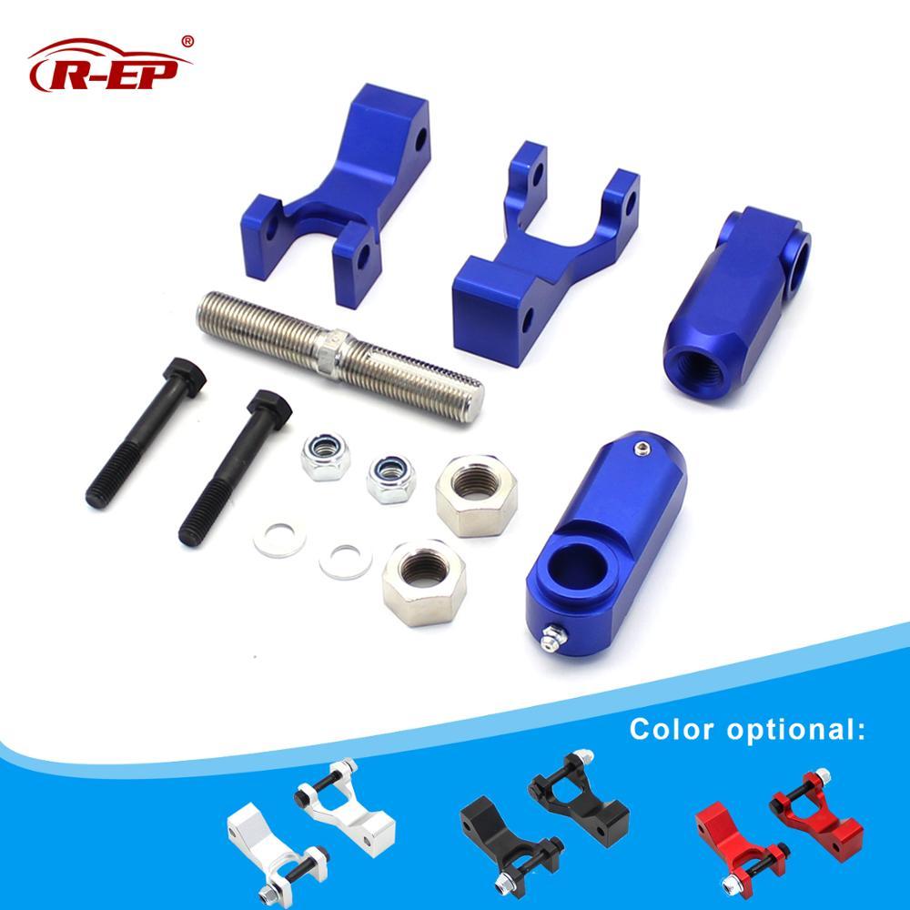 R-EP ATV Front Rear Lowering Kit Aluminum Alloy Fits for Yamaha Raptor 350 YFM350 Raptor 660 660R YFM660R Raptor 700 700R YFM700