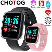 Smart Horloge Mannen 1.3 Kleur Touch Screen Stappenteller Fitness Tracker Horloge Ip67 Waterdichte Sport Smartwatch Vrouwen Voor Android Ios