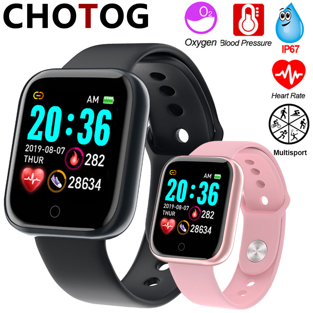 Smart Watch Men 1.3'' Color Touch Screen Pedometer Fitness Tracker Watch Ip67 Waterproof Sport Smartwatch Women For Android IOS