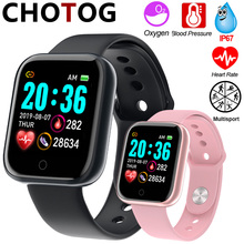 Smart Watch Men 1.3 Color Touch Screen Pedometer Fitness Tracker Watch Ip67 Waterproof Sport Smartwatch Women For Android IOS