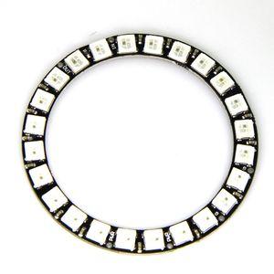 Image 1 - Светодиодный RGB Ring WS2812B 5050, 24 битный светодиодный + интегрированные драйверы для Arduino, 1 заказ