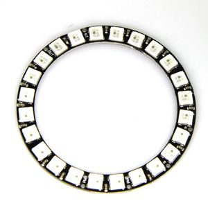 Image 1 - high quality 24Bit RGB LED Ring WS2812B 5050 RGB LED + Integrated Drivers For Arduino 1 order