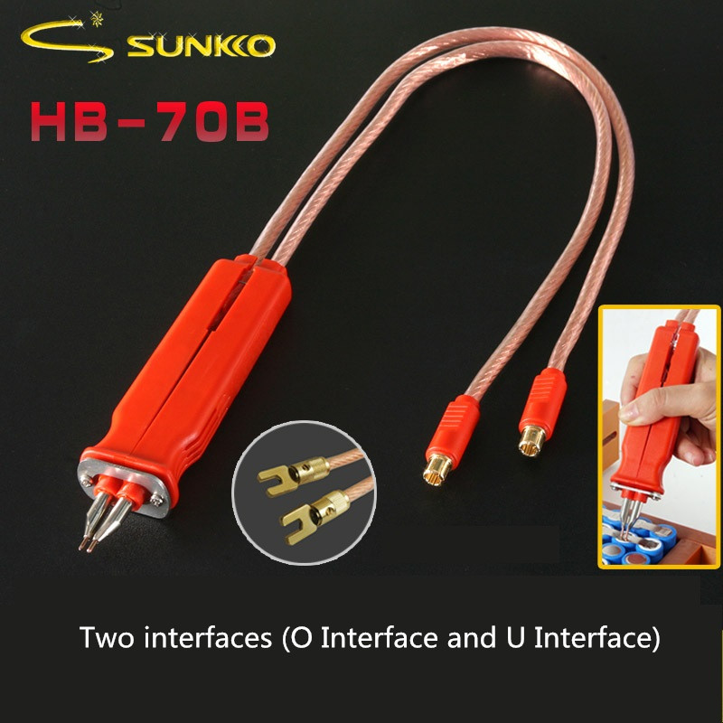 HB-70B Spot Welding Pen Handle For 18650 Lithium Battery DIY Pulse Welding Pen Spot Welder Machine