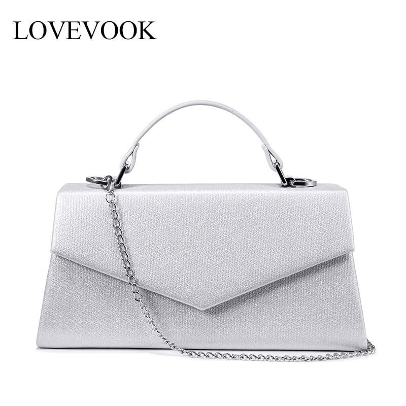 LOVEVOOK Women handbag top-handle high quality PU leather crossbody messenger bag female luxury designer evening bags for ladies