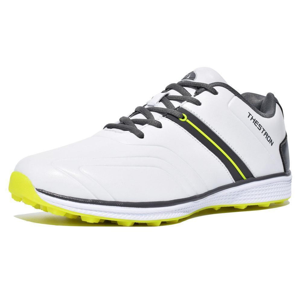 Waterproof Men Golf Shoes Professional Lightweight Footwear Trainers Golfing Outdoor Athletic Sport Trainers Sneakers Sport U2S8