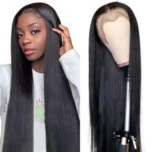Aircabin 13x6 hd t tipo perucas dianteiras do laço para as mulheres 30 Polegada em linha reta cabelo humano remy glueless parte profunda 4x4 encerramento peruca