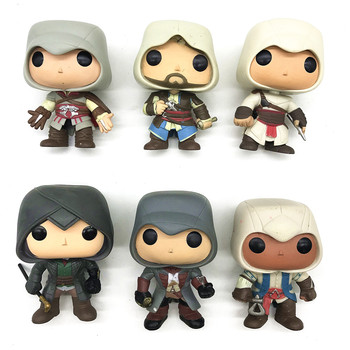 ASSASSINS CREED Altair Character Model Vinyl Series Figures Children Toys Xmas Gifts