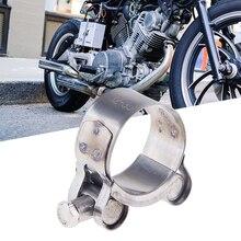 32-55 мм мотоциклетный вытяжной V-Band зажим фланец комплект быстросъемный зажим из нержавеющей стали зажим для выхлопа аксессуары для мотоциклов