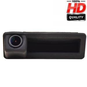 Image 1 - 1280x720p alça Tronco Rear View camera Reversa Backup para BMW X5 X1 X6 E39 E53 E82 E88 E84 E90 E91 E92 E93 E60 E61 E70 E71 E72