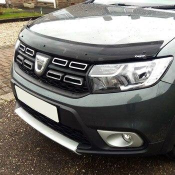 For Renault Dacia Duster 2018 + Front Bug Shield Hood the Deflectors Guard Bonnet heartbleed bug the openssl vulnerabilty