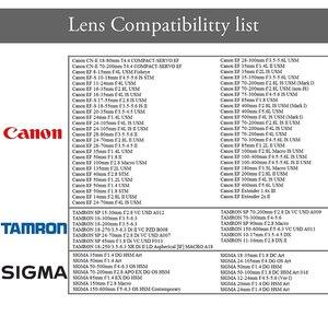 Image 5 - ALTSON Lens montaj adaptörü halka yüksek hızlı otomatik odak sabitleme USB Canon EF/EF S Lens Nikon Z6 /Z7 Z montaj kamera
