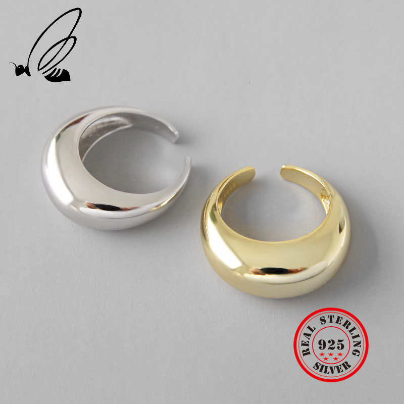 Geometry 925 Sterling Silver Rings Female's Korean Resizable Handmade Bague Femme Argent 925 Accesorios Mujer Moda 2019 Jewelry