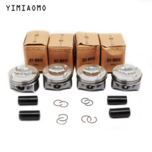06H 107 065 DD Pin 23mm Engine Pistons & Rings Assembly For Audi A3 A4 A6 Q5 VW Passat CC Golf SKODA Seat 2.0T 198 151 C