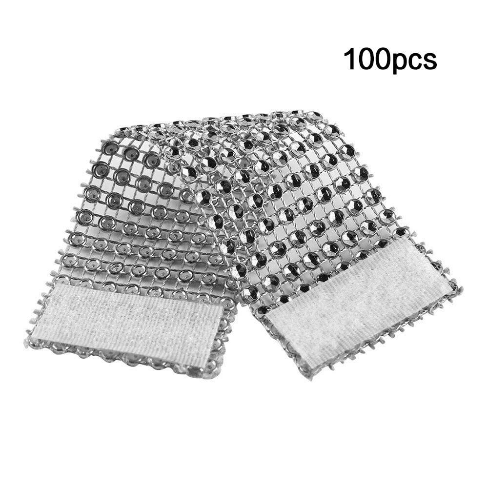 10//50pcs Diamond Rhinestone Wrap Napkin Ring Hotel Chair Band Wedding Decor Hot