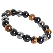 Fashion Fashionable Unique Bracelet Fotou Tigers Eye Stone Hand String Bangle Fine Jewelry Valentine Gift
