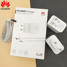 Original Huawei Supercharge Mate 30 20 X P40 P30 P20 Pro Honor 20 S V20 V30 Fast Super Charger 10V4A Type-C USB 3.1 Type C Cable(China)