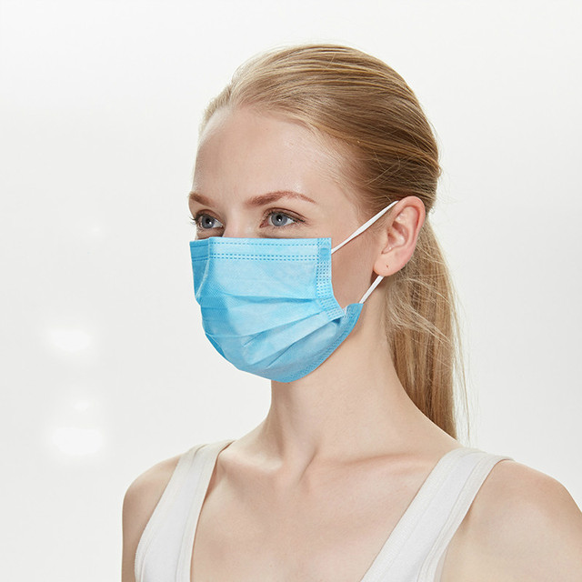Disposable face mask Safety mask Face Cover Mask Filter 3 ply non-woven Meltblown Masks Disposable Masks drop shopping 2