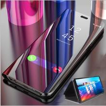 Умный зеркальный чехол для телефона для samsung Galaxy S10 S8 S9 плюс A50 A30 A10 A50s A30s A10s A20 A40 A60 A70 Note10 9 8 S6 S7 края крышки